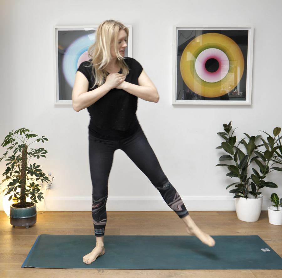 quads, yoga,